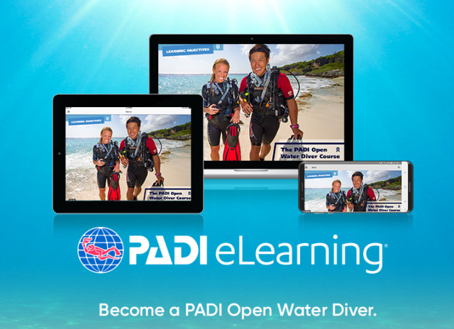 PADI Open Water Diver Course after eLearning