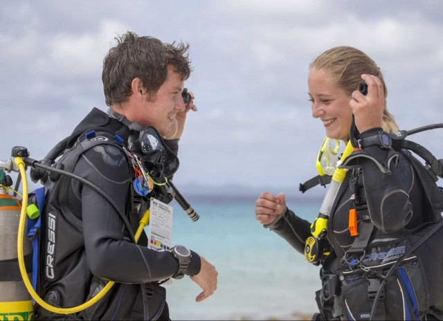PADI Open Water Diver after eLearning course