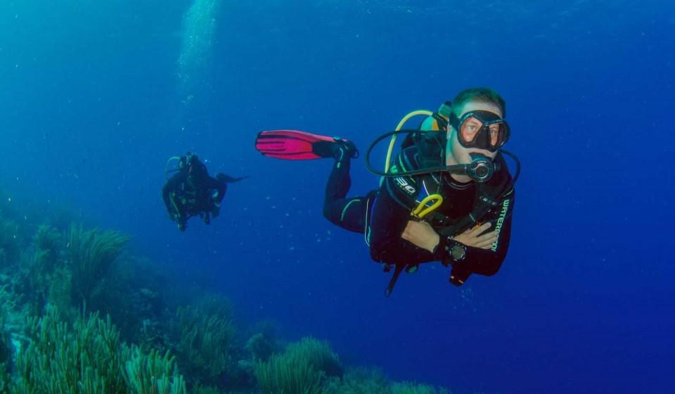 Excellent buoyancy control