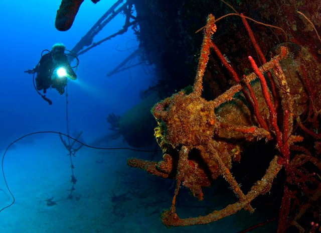 Wreck Diver course