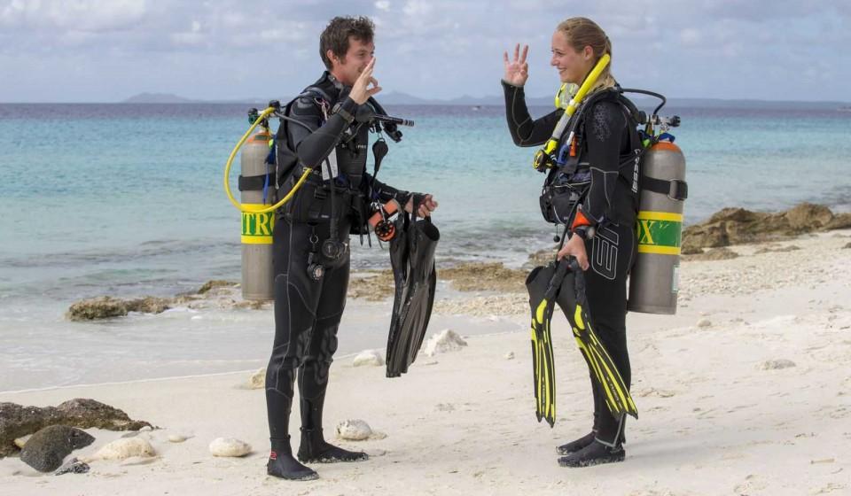 Divemaster at AB-Dive