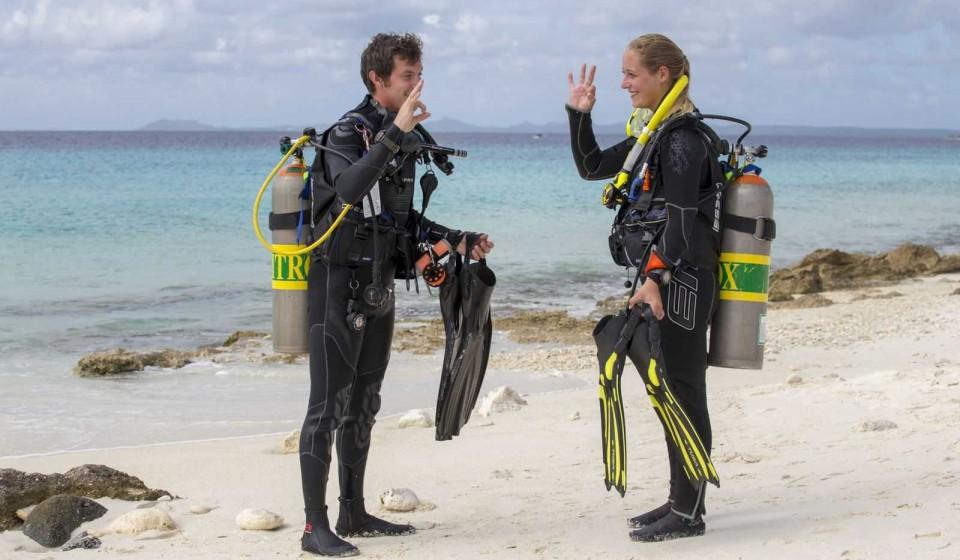 Divemaster bij AB-Dive