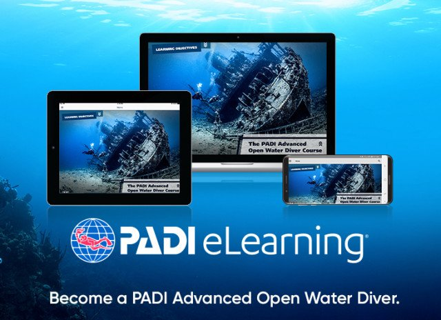 Advanced Open Water Cursus na eLearning