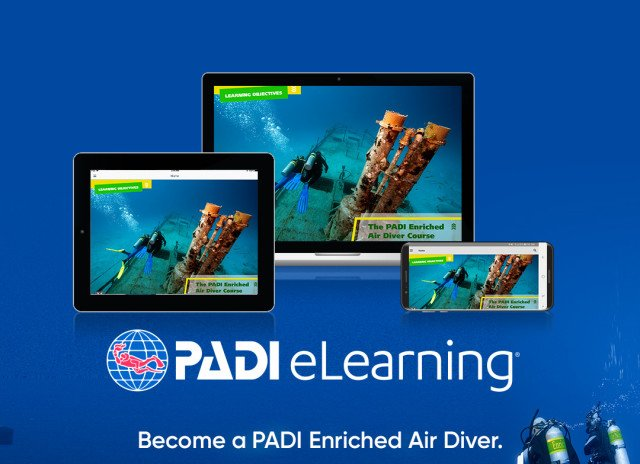 Enriched Air Diver course after eLearning