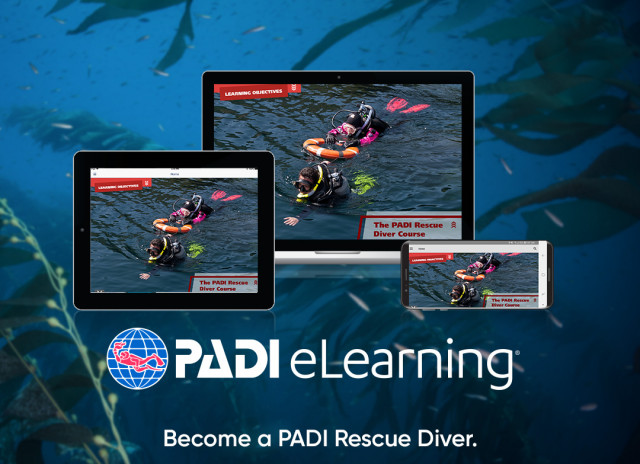 Rescue Diver course after eLearning