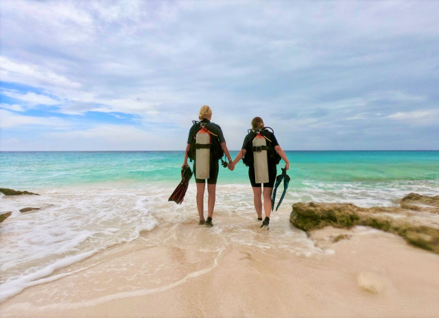 The first dive experience of TravelHunter