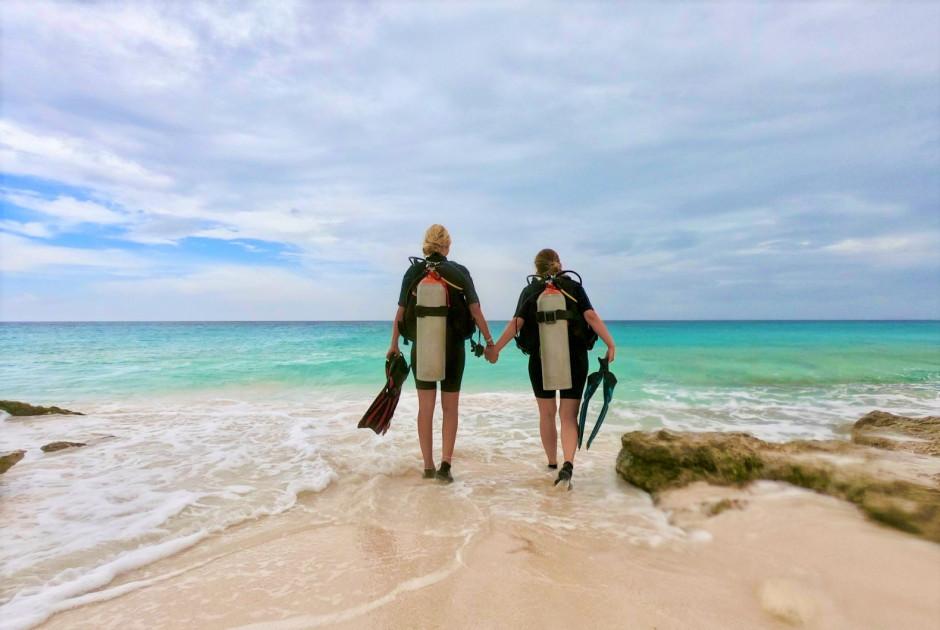 De eerste duikervaring van TravelHunter