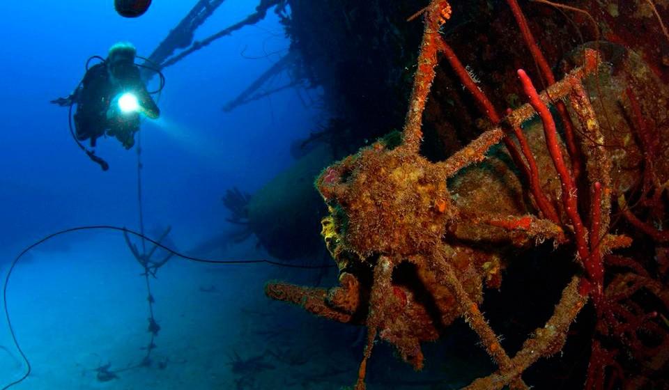 Dive site 2: Hilma Hooker