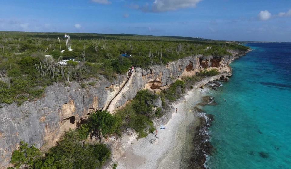 Bonaire duikspot 5: 1000 steps