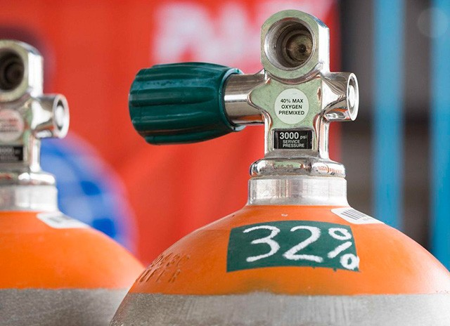 Enriched Air Nitrox Diver Cursus